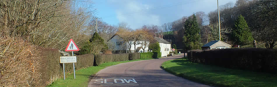 The hamlet of Brightley